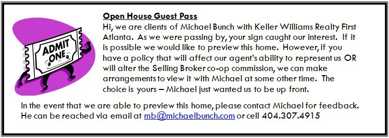 Open House Guest Pass