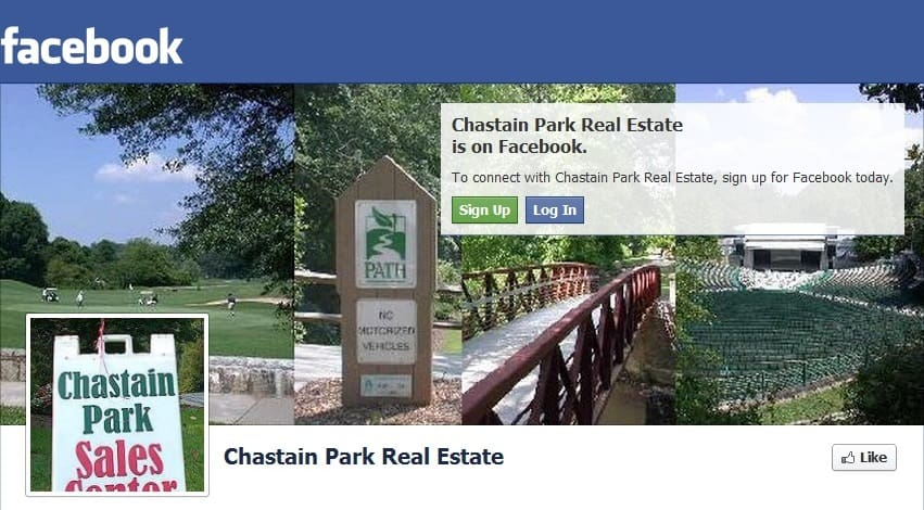 Chastain Park Home Sales as of August 2013