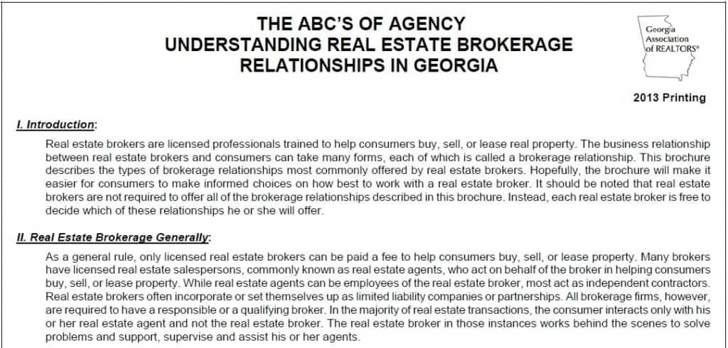 Working with Real Estate Agents